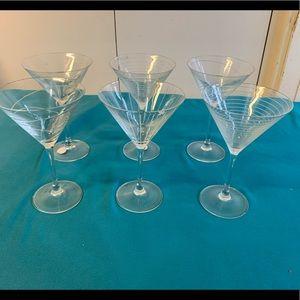 Martini Glasses - set of 6